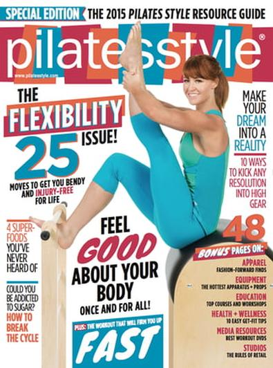 Pilates Style (US) magazine cover