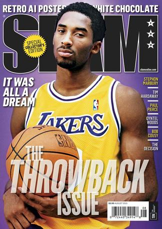 Slam (US) magazine cover
