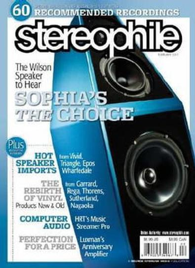 Stereophile (US) magazine cover