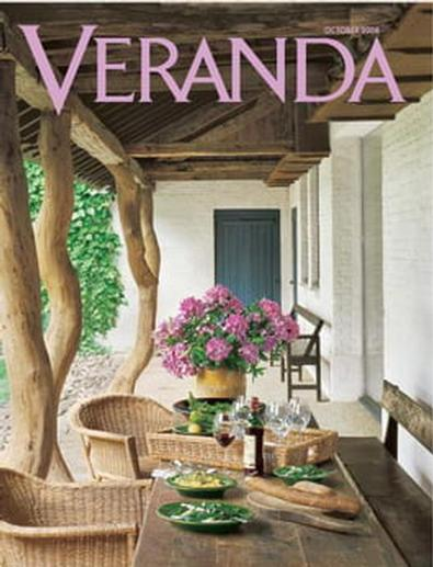 Veranda (US) magazine cover