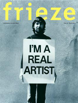 Frieze (UK) magazine cover