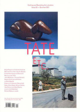 Tate, ect (UK) magazine cover