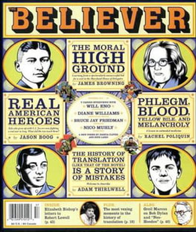 The Believer (UK) magazine cover