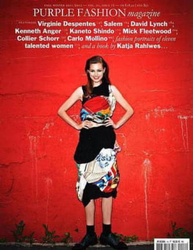 Purple Fashion (FRA) magazine cover