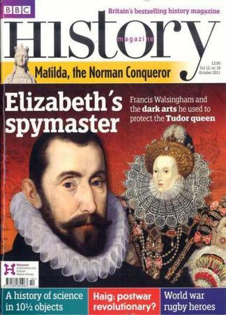 BBC History magazine cover