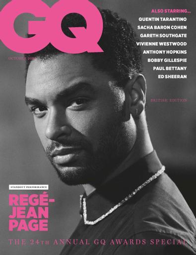 GQ (UK) magazine cover