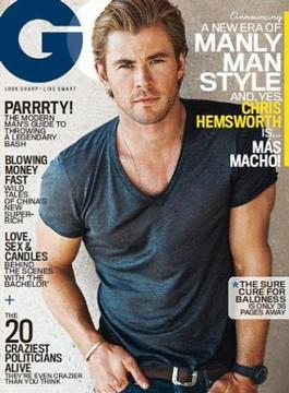 GQ (US) magazine cover