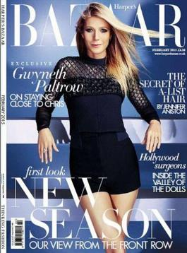 Harpers Bazaar (UK) magazine cover
