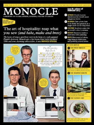 Monocle magazine cover