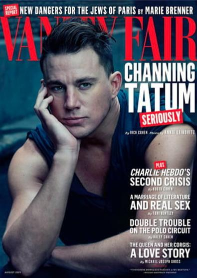 Vanity Fair (UK) magazine cover