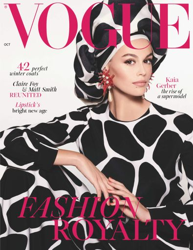 Vogue (UK) magazine cover
