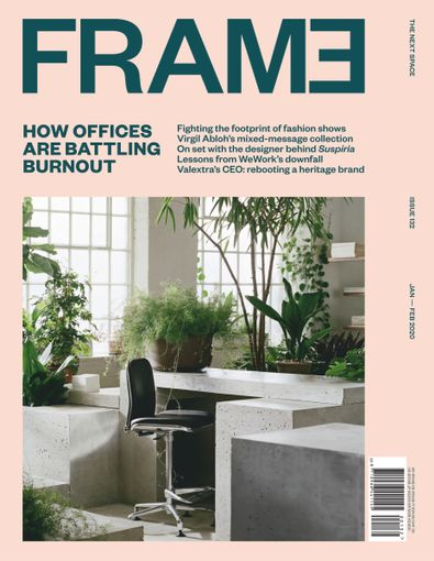 FRAME magazine cover