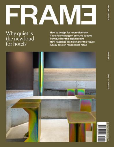 FRAME magazine cover