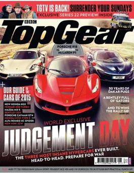 BBC Top Gear (UK) magazine cover