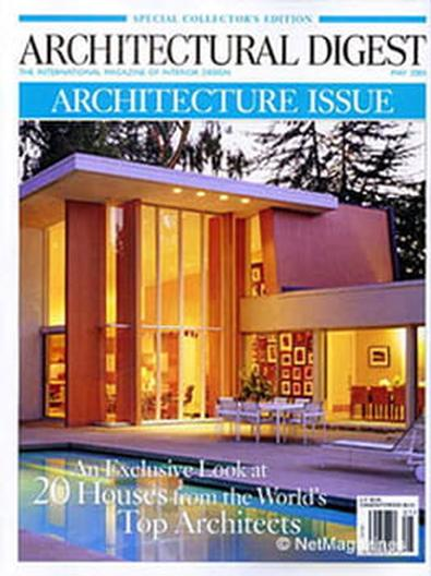 Architectural Digest (US) magazine cover