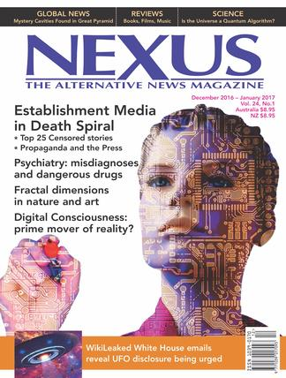 Nexus Magazine (NZ) cover