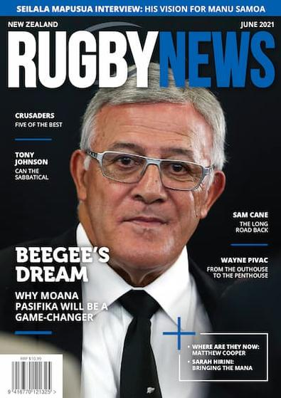 NZ Rugby News magazine cover