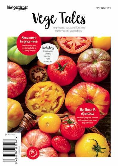 Kiwi Gardener Quarterly magazine cover