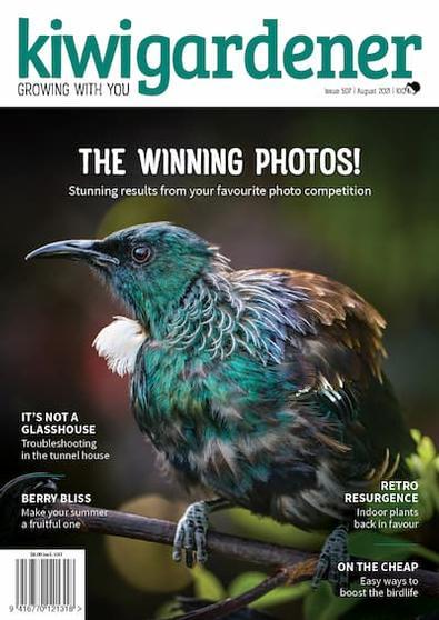 Kiwi Gardener magazine cover