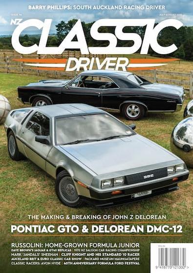 Classic Driver magazine cover
