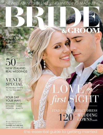 Bride & Groom (NZ) magazine cover