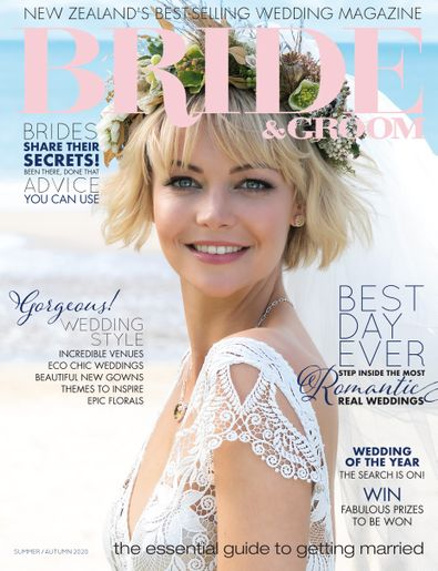 Bride & Groom (NZ) magazine cover