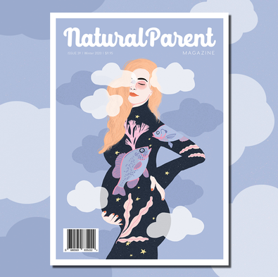 The Natural Parent magazine cover
