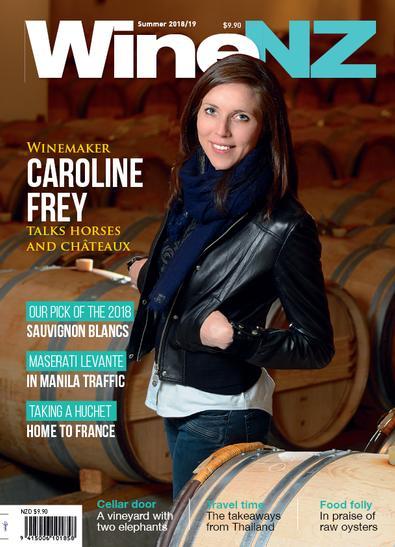 WineNZ Magazine cover