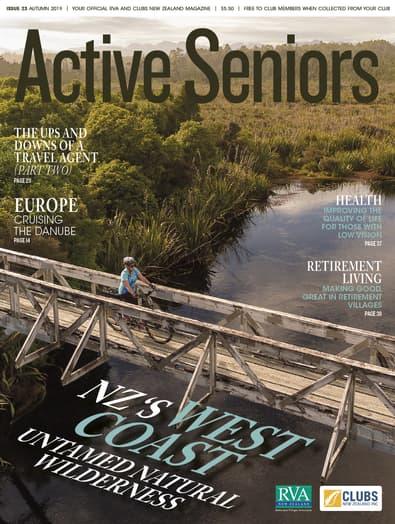Active Seniors magazine cover