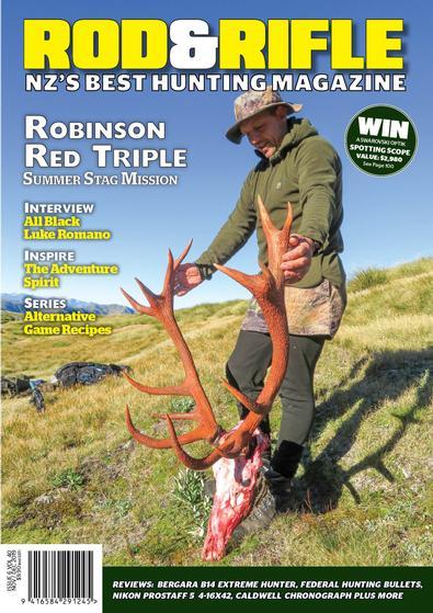 NZ Rod & Rifle magazine cover