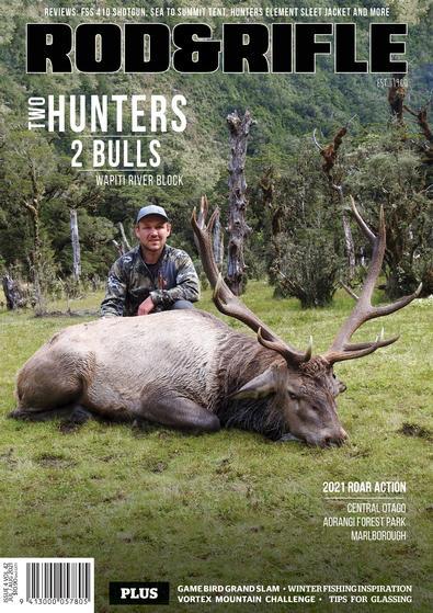 NZ Rod&Rifle magazine cover