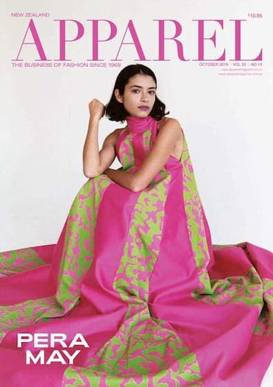 Apparel magazine cover