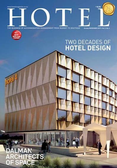 HOTEL magazine cover