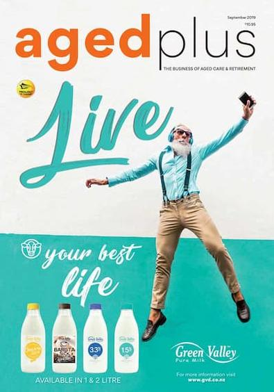 AGEDplus magazine cover