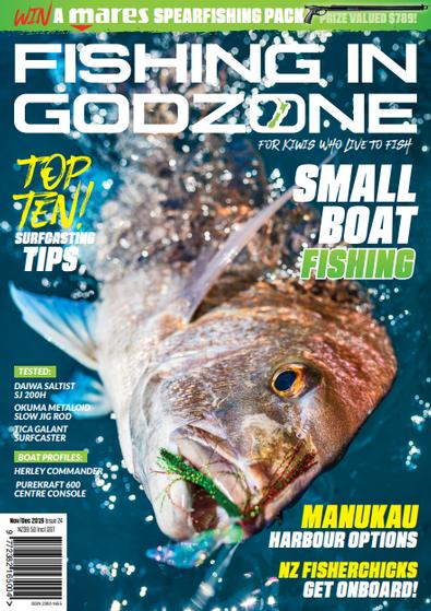 Fishing in Godzone magazine cover
