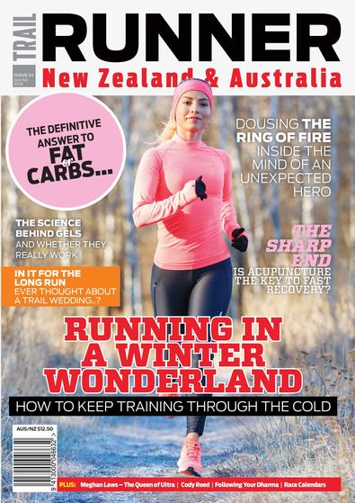 Trail Runner NZ & AUS magazine cover