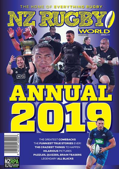NZ Rugby World ANNUAL 2019 cover