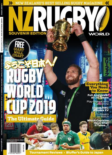 NZRW World Cup 2019 Souvenir Edition cover