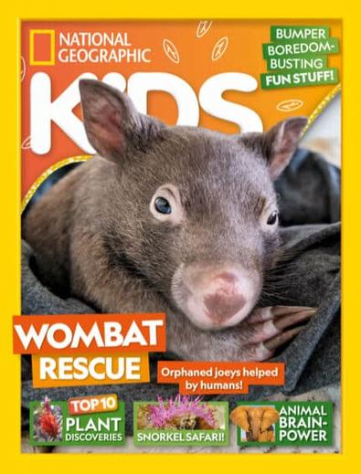 National Geographic Kids magazine cover
