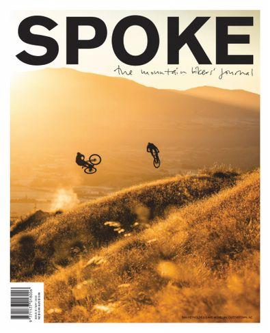 Spoke: The Mountain Bikers Journal magazine cover