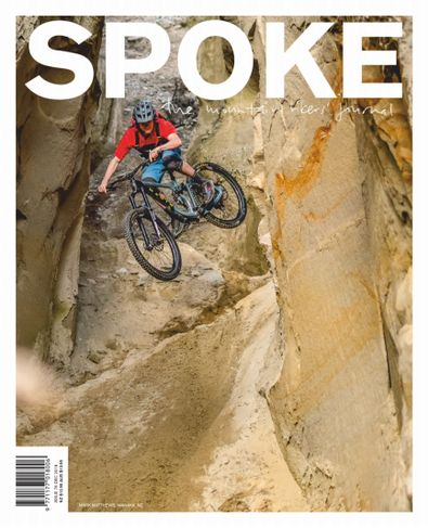 Spoke: The Mountain Bikers Journal magazine cover