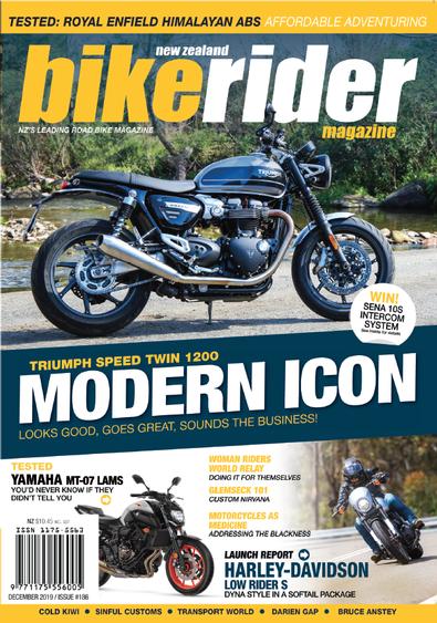 Bike Rider Magazine cover