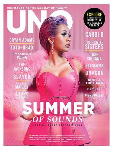 UNO Magazine cover
