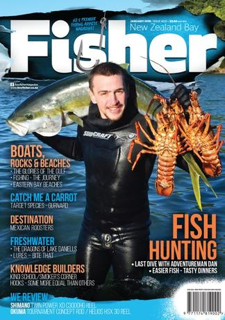 NZ Bay Fisher magazine cover