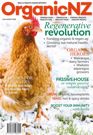 Organic NZ digital cover