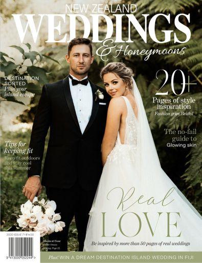 New Zealand Weddings digital cover