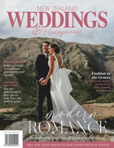 New Zealand Weddings digital cover