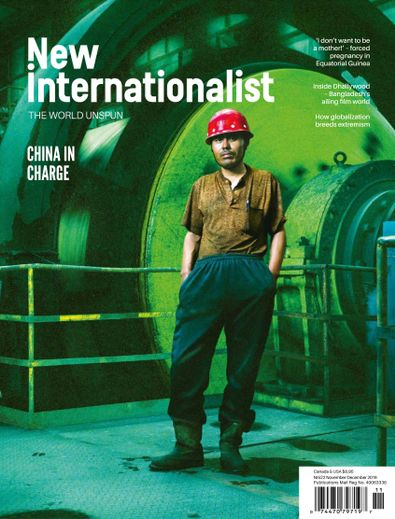 New Internationalist digital cover