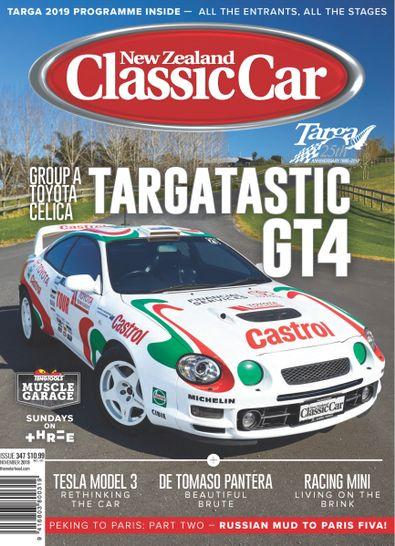 NZ Classic Car digital cover