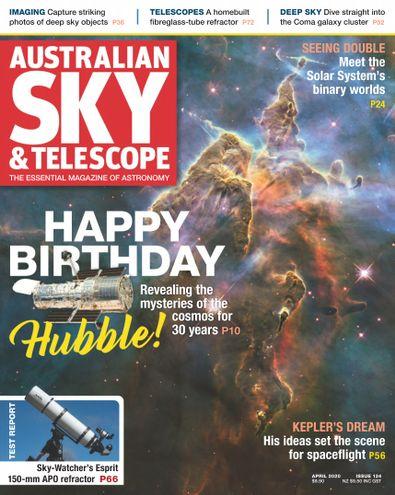 Australian Sky & Telescope digital cover
